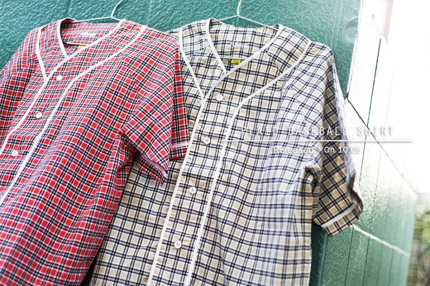 Remix 16 SS Plaid Baseball Shirt (1)
