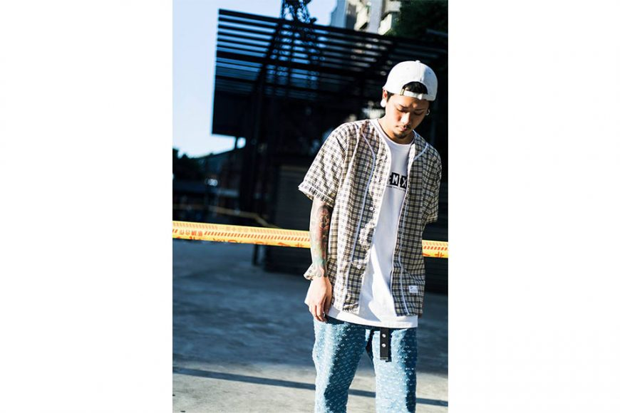 Remix 16 SS Plaid Baseball Shirt (2)