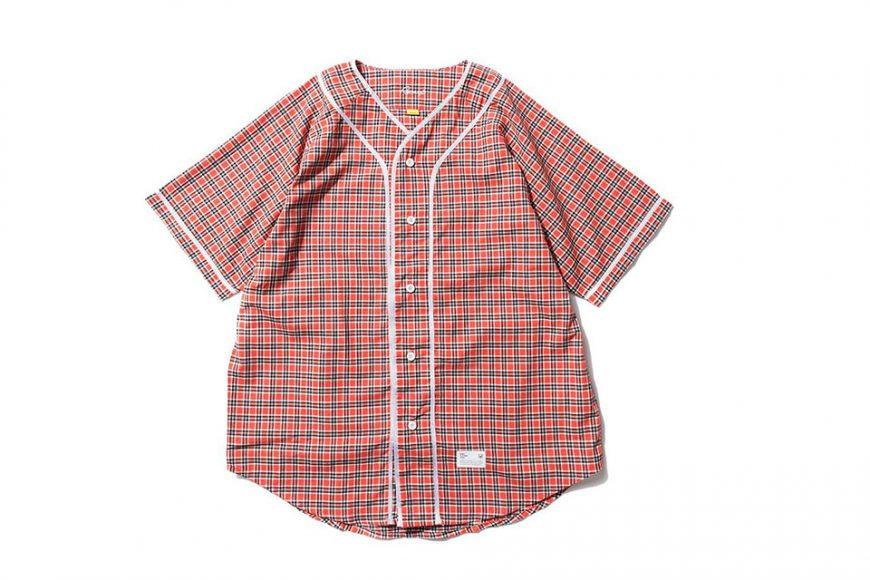 Remix 16 SS Plaid Baseball Shirt (3)