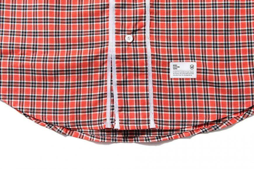 Remix 16 SS Plaid Baseball Shirt (5)