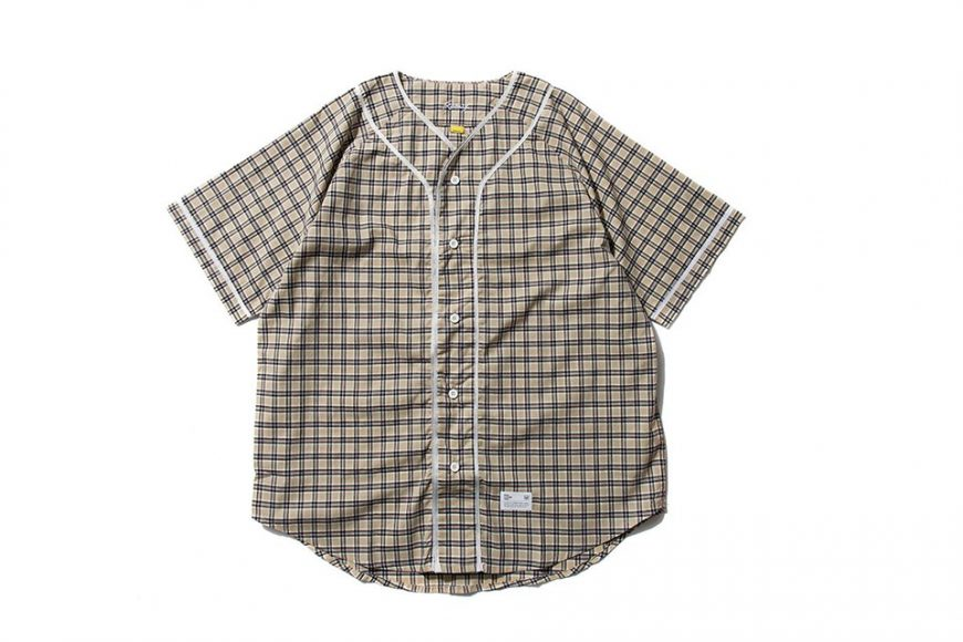 Remix 16 SS Plaid Baseball Shirt (8)