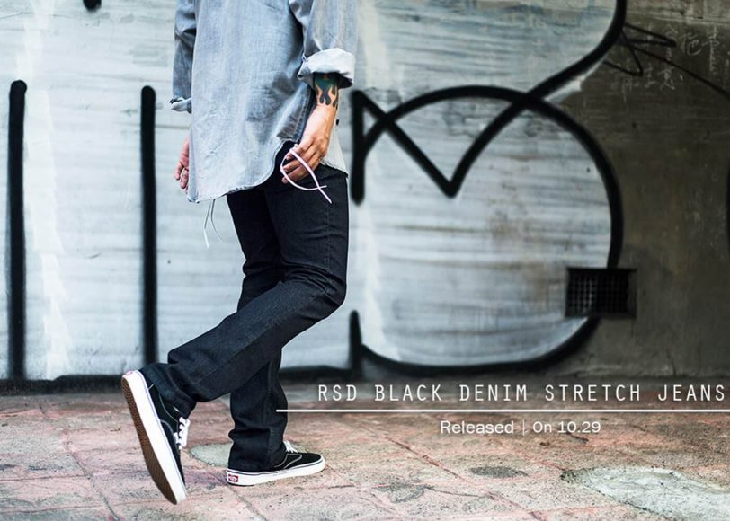 Remix 16 SS Rsd Black Denim Stretch Jeans (1)