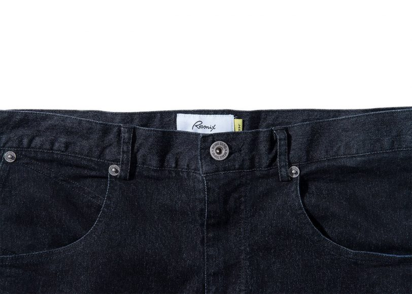Remix 16 SS Rsd Black Denim Stretch Jeans (3)