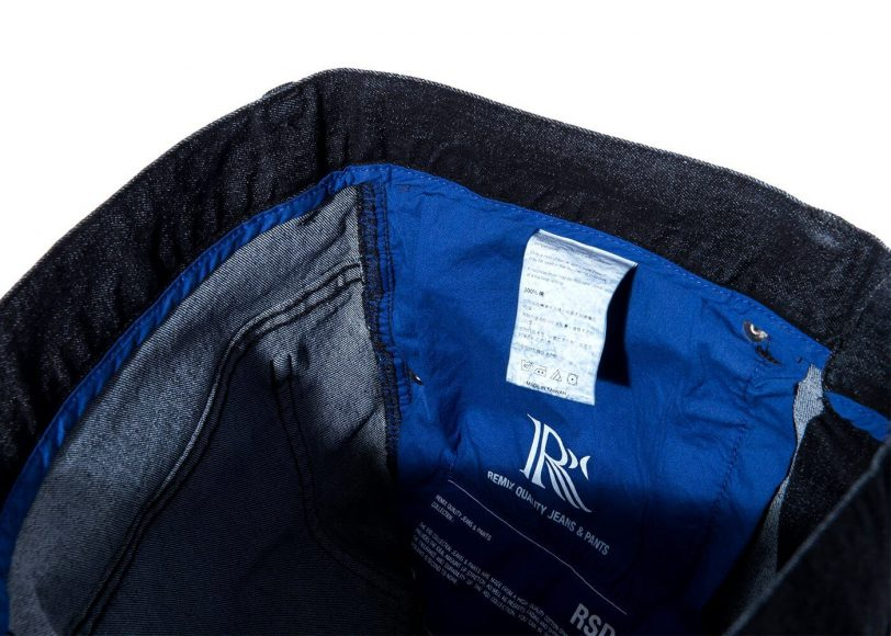 Remix 16 SS Rsd Black Denim Stretch Jeans (5)