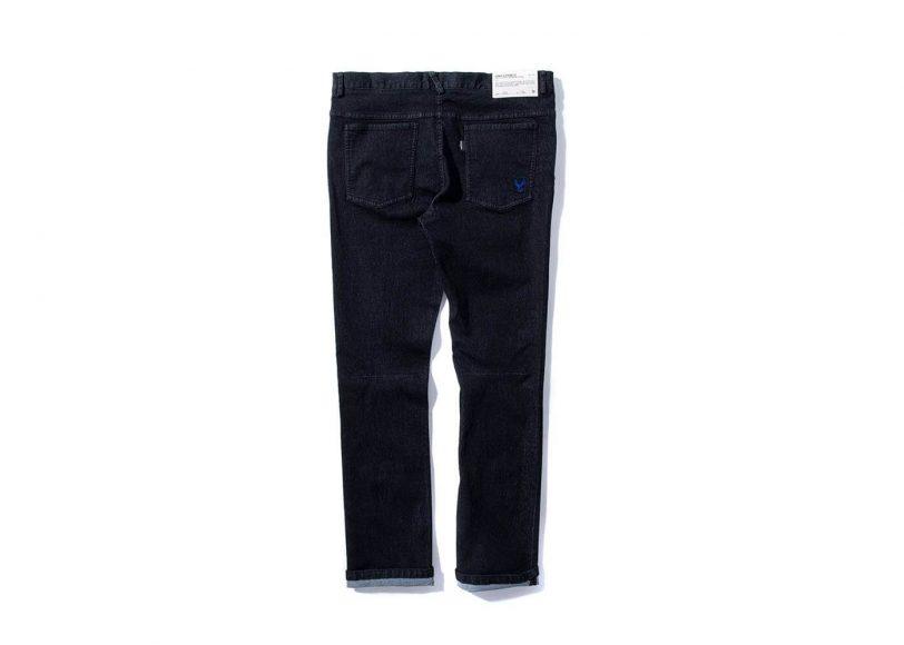 Remix 16 SS Rsd Black Denim Stretch Jeans (8)