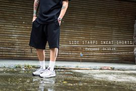 Remix 16 SS Side Starps Sweat Shorts (1)