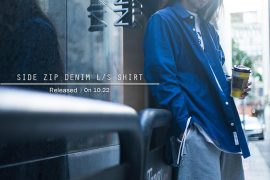 Remix 16 SS Side Zip Denim LS Shirt (1)
