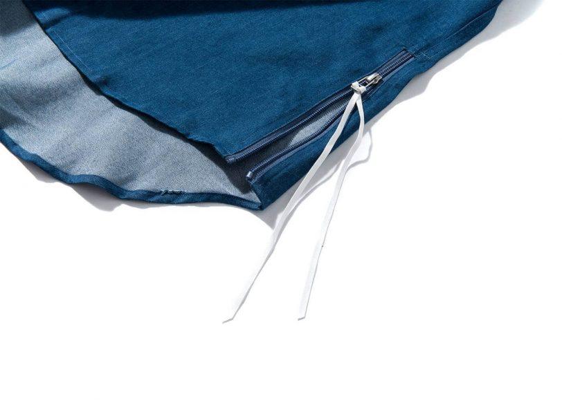 Remix 16 SS Side Zip Denim LS Shirt (7)