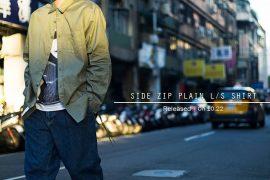 Remix 16 SS Side Zip Plain LS Shirt (1)