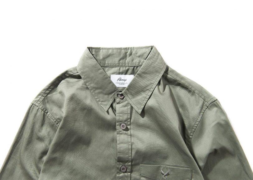 Remix 16 SS Side Zip Plain LS Shirt (10)