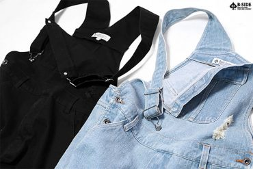 B-Side 16 SS BS Ripped Overalls (1)
