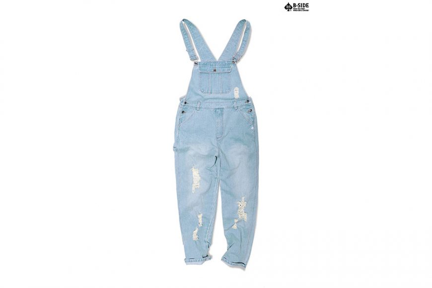 B-Side 16 SS BS Ripped Overalls (2)