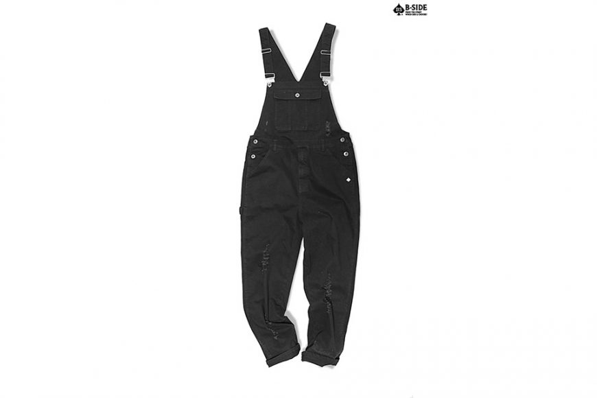 B-Side 16 SS BS Ripped Overalls (3)