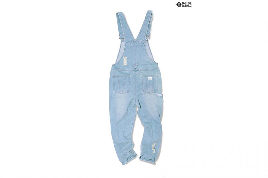 B-Side 16 SS BS Ripped Overalls (4)