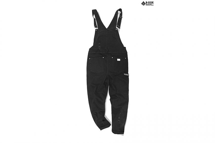 B-Side 16 SS BS Ripped Overalls (5)
