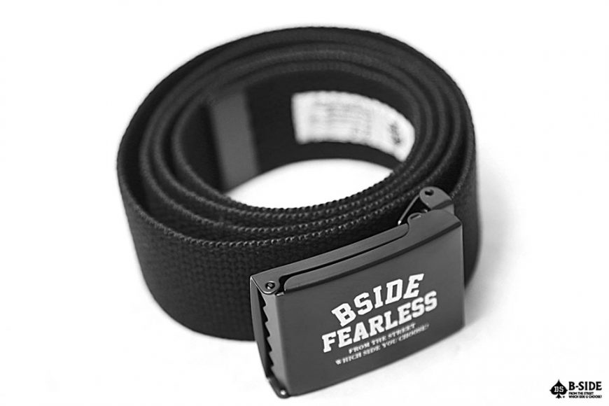B-Side 16 SS Fearless Canvas Belt (3)