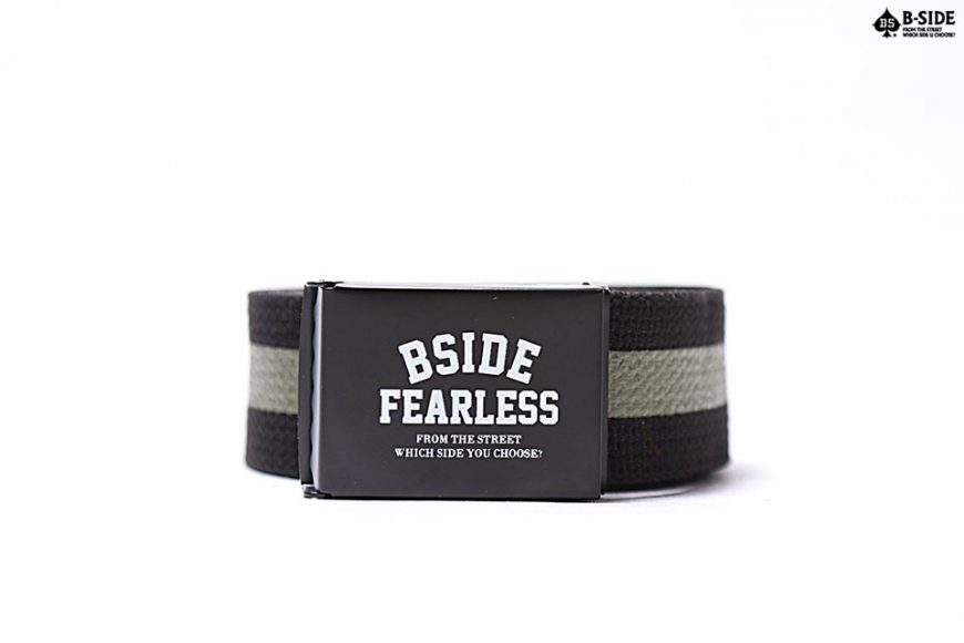 B-Side 16 SS Fearless Canvas Belt (4)