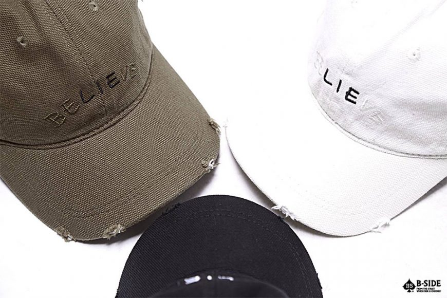 B-Side 16 SS Lie Ripped Cap (1)