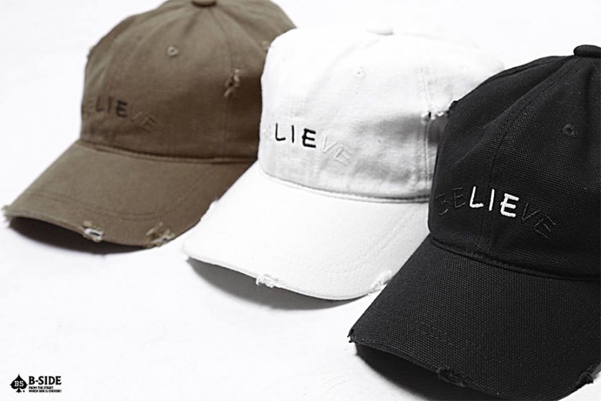 B-Side 16 SS Lie Ripped Cap (2)