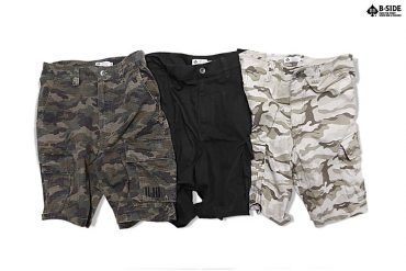 B-Side 16 SS Military Shorts (1)