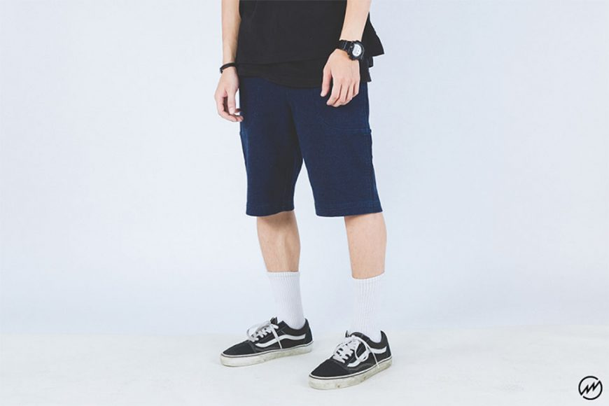 Mania 16 SS Denim Sweatshorts (1)