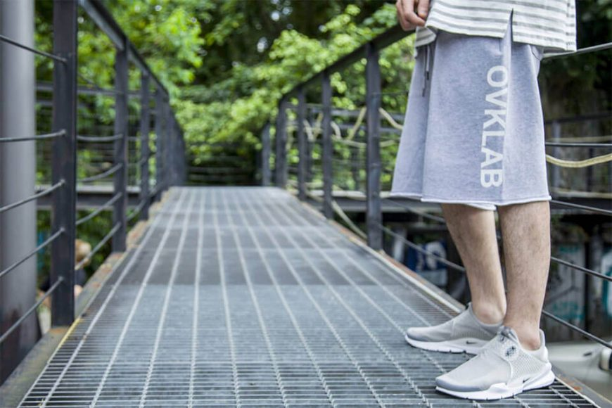 OVKLAB 16 SS Basic Sweat Shorts (1)