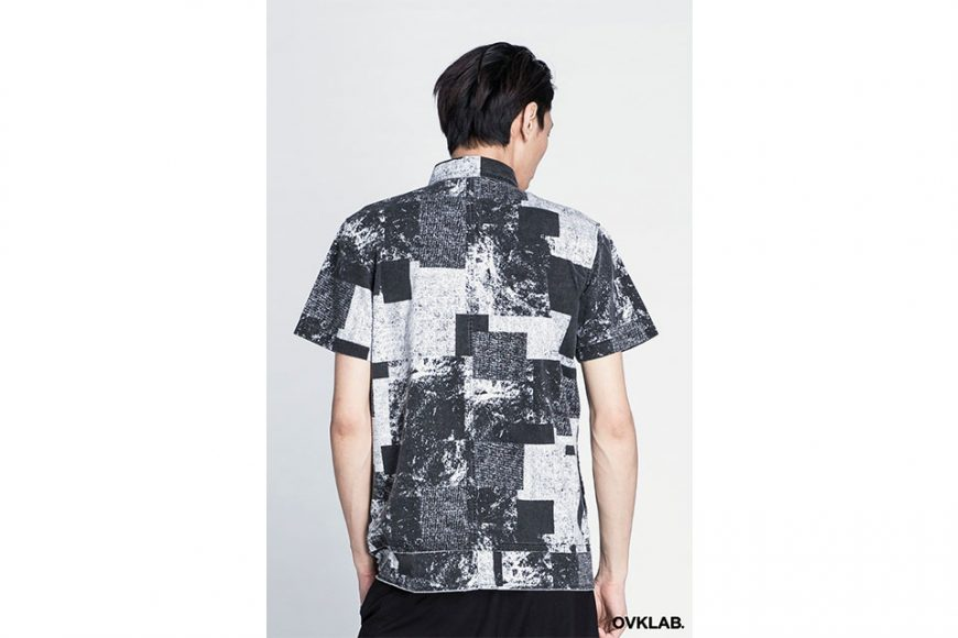 OVKLAB 16 SS Patch Pattern Army Shirt (10)