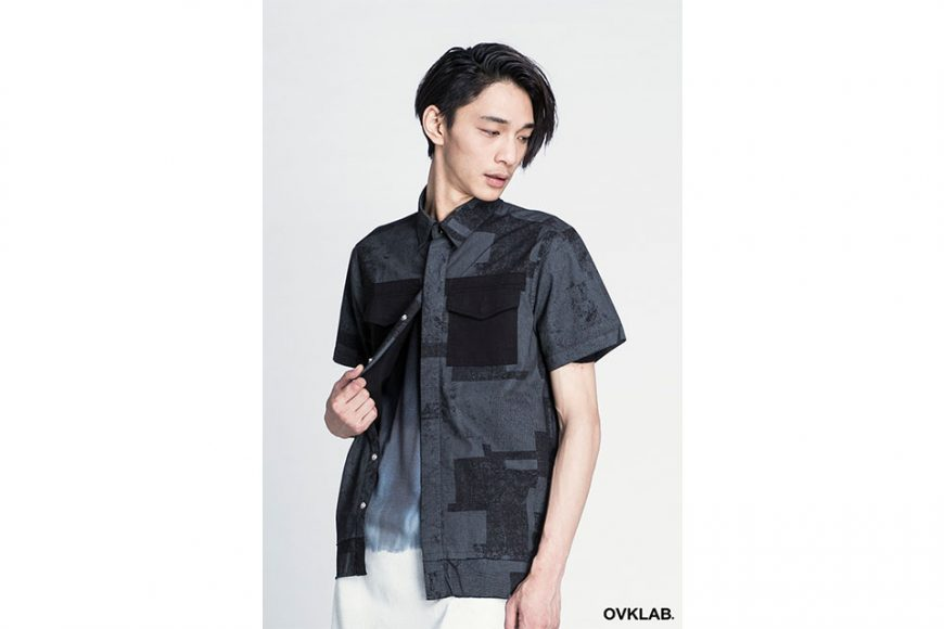 OVKLAB 16 SS Patch Pattern Army Shirt (3)