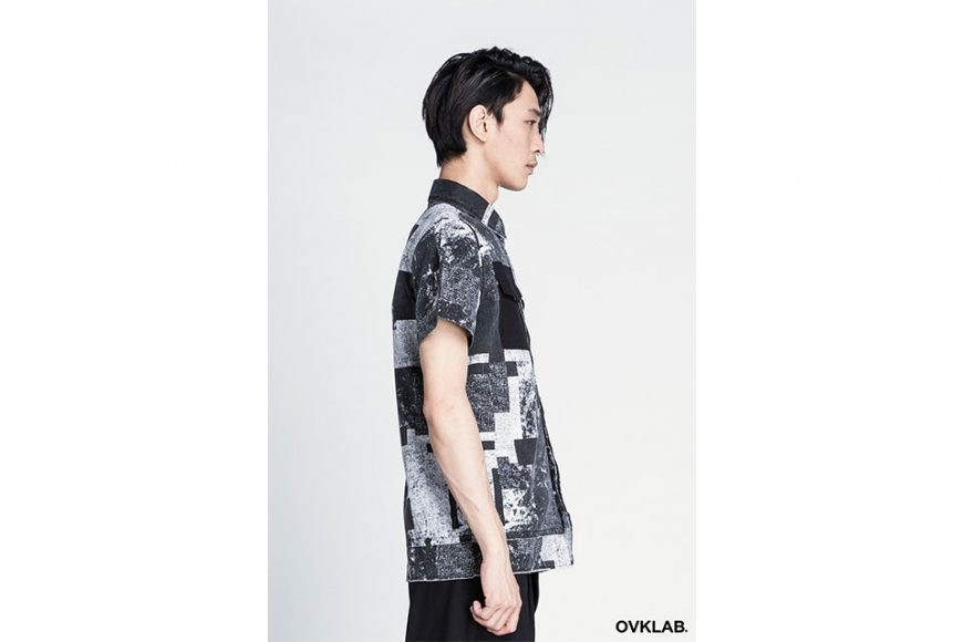OVKLAB 16 SS Patch Pattern Army Shirt (9)