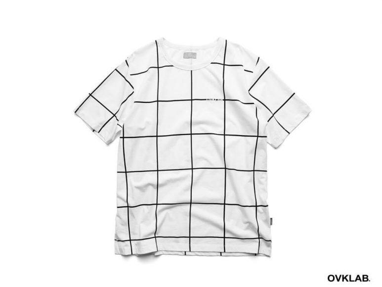 OVKLAB 16 SS Windowpane Pattern Tee (12)