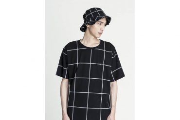 OVKLAB 16 SS Windowpane Pattern Tee (4)