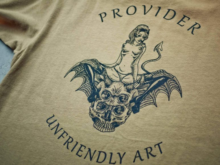 Provider 16 SS Devil With Evil Bat Tee (8)