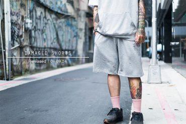 Remix 16 SS Damaged Shorts (1)
