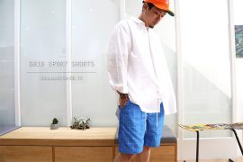 Remix 16 SS Grid Sport Shorts (1)