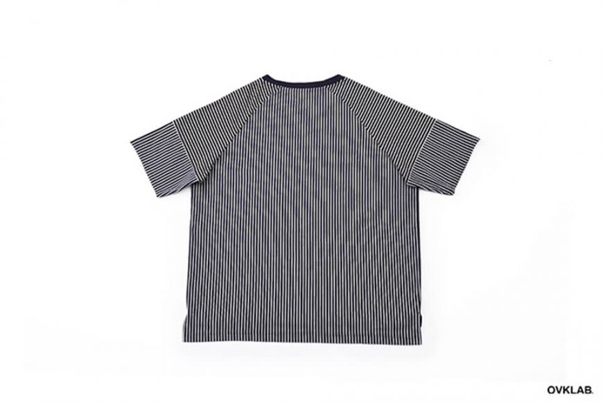 OVKLAB 17 SS Striped Patchwork Oversize Tee (5)