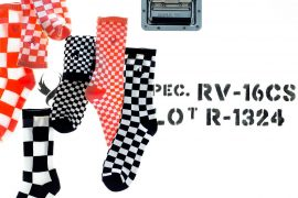 REMIX 17 SS 3-Way Checkerboard Socks (1)