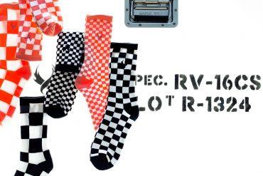 REMIX 17 SS 3-Way Checkerboard Socks (1)