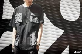 B-SIDE 17 SS BSLFS Four Tech Tee (1)