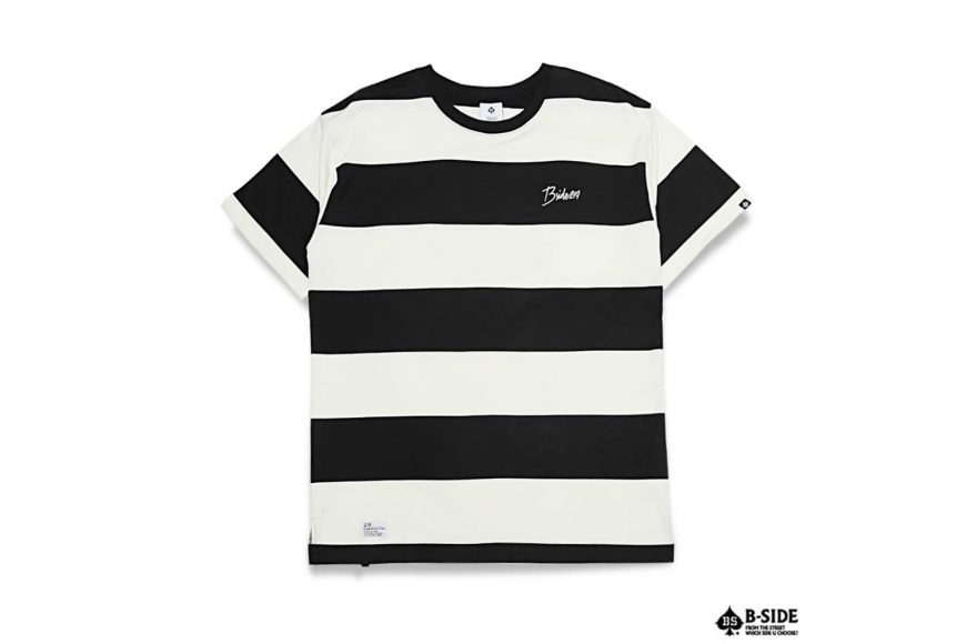 B-SIDE 17 SS 219 Stripe Tee (3)