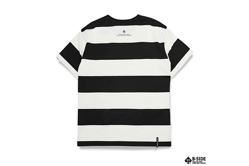B-SIDE 17 SS 219 Stripe Tee (4)