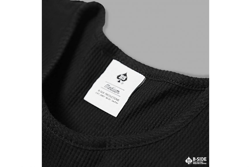 B-SIDE 17 SS Basic Wafer Tee (3)
