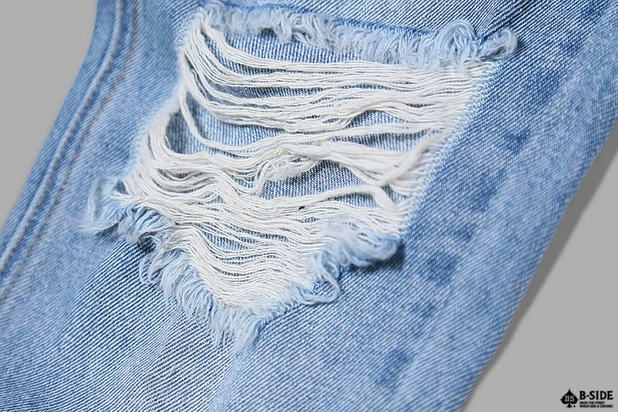 B-SIDE 17 SS Type-B Damage Denim (11)