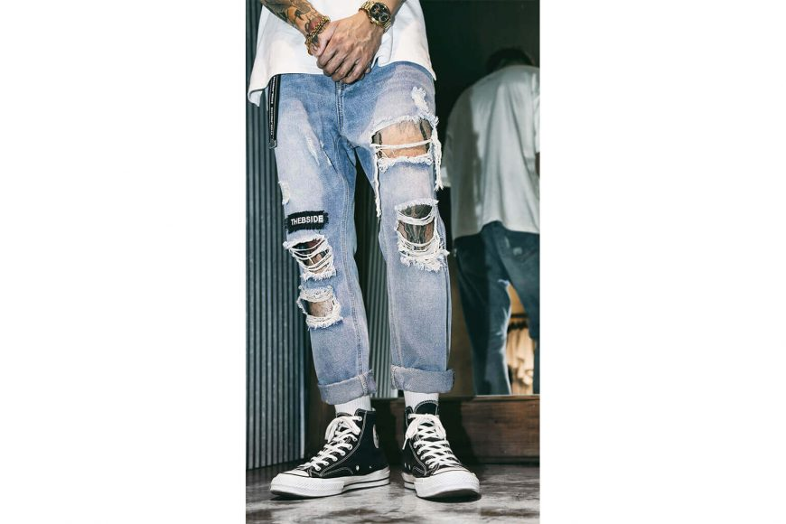 B-SIDE 17 SS Type-B Damage Denim (2)