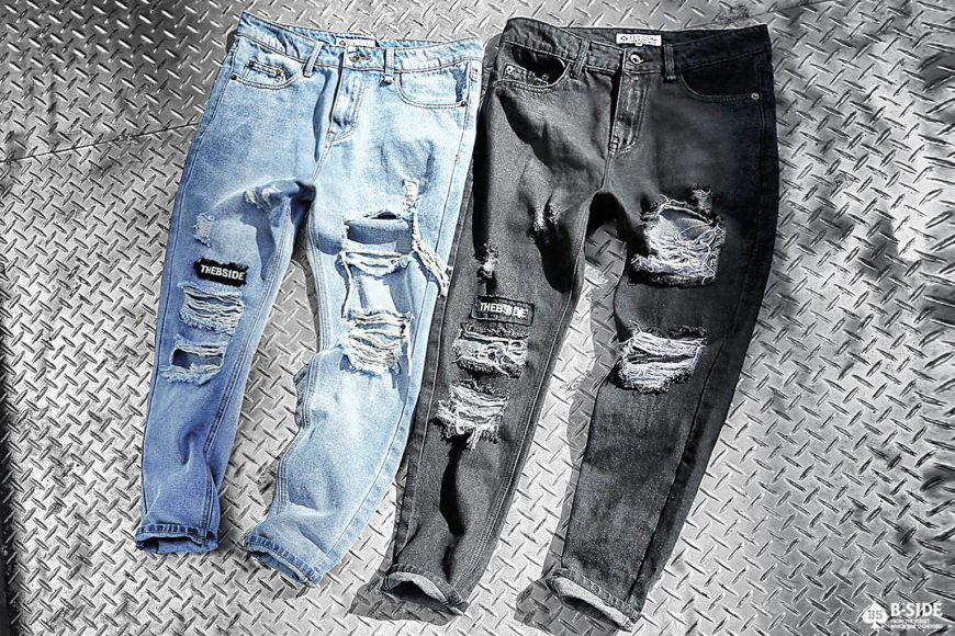 B-SIDE 17 SS Type-B Damage Denim (5)
