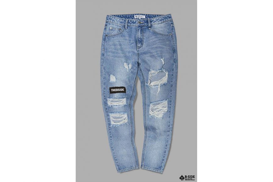 B-SIDE 17 SS Type-B Damage Denim (6)