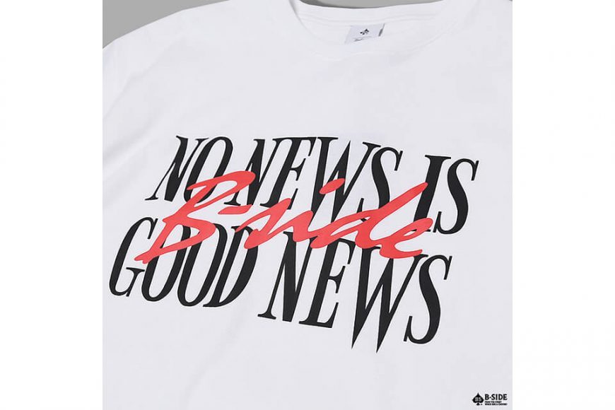 B-SIDE 17 AW No News Is Good News Tee (13)