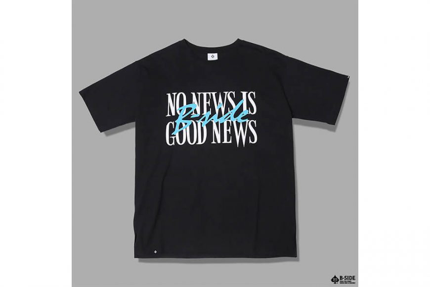 B-SIDE 17 AW No News Is Good News Tee (4)