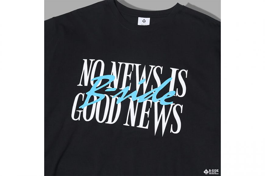 B-SIDE 17 AW No News Is Good News Tee (6)