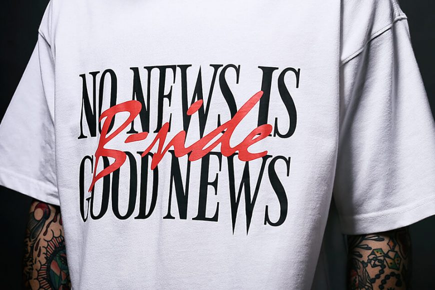 B-SIDE 17 AW No News Is Good News Tee (8)