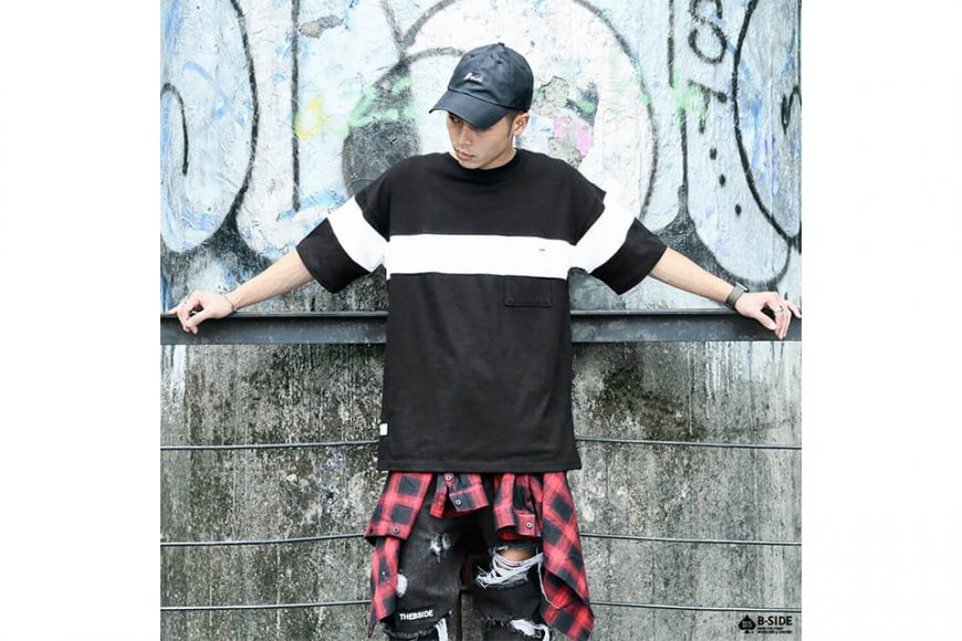 B-SIDE 17 SS BS Split Pocket Tee (2)